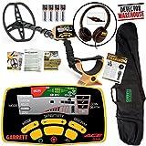 NEW Garrett Ace 350 Metal Detector WATERPROOF Coil + Headphones and Travel Bag