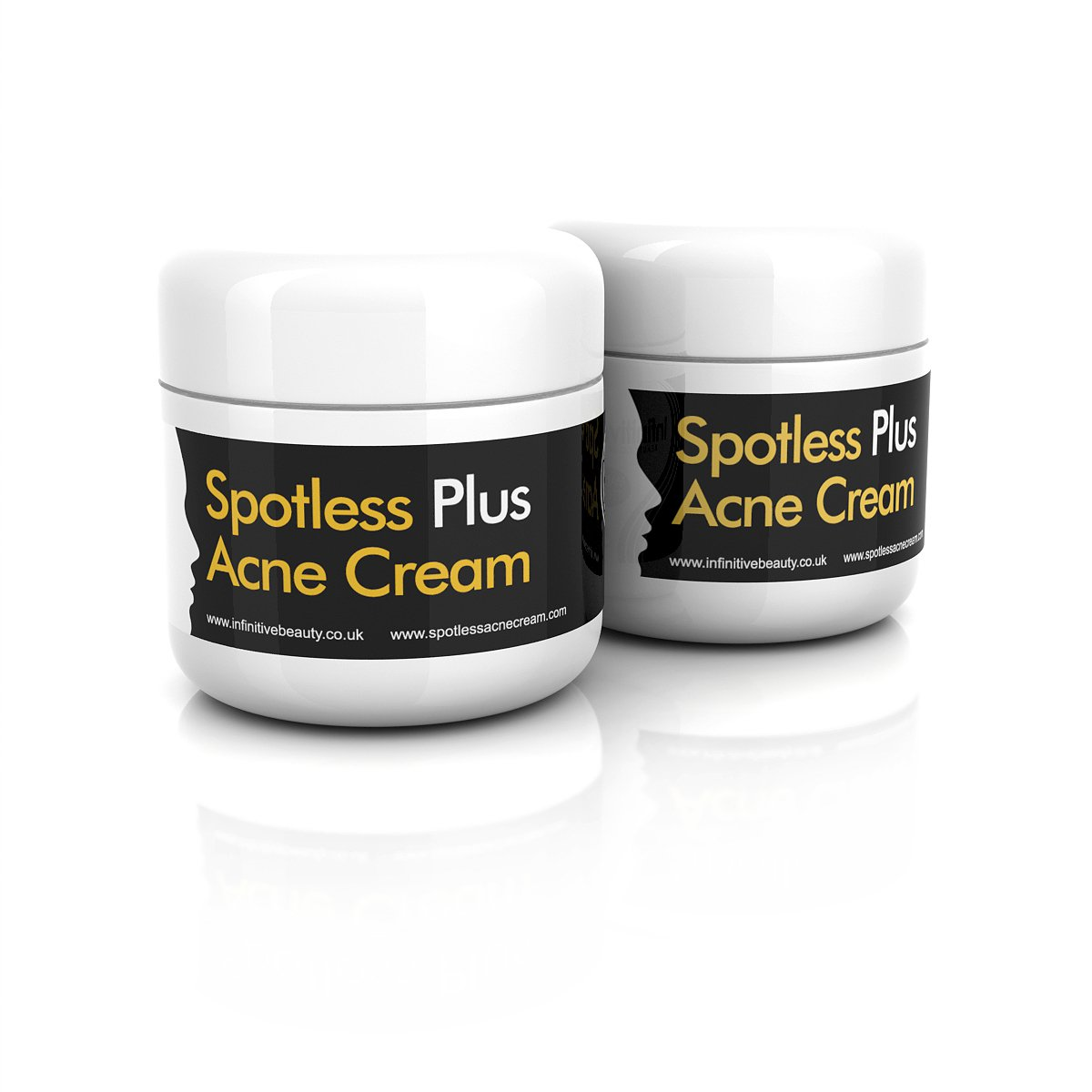 1 spotless acne cream fast treatment clear skin face spot scars cure retinol uk ebay. Black Bedroom Furniture Sets. Home Design Ideas
