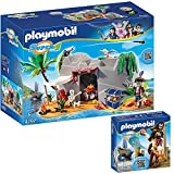 PLAYMOBIL® Super 4 2er Set 4797 4798 Piraten-Höhle