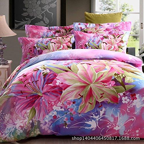 21 New Super Soft 4Pc Sheet Set Cotton Brushed Denim Wedding Bedding Set front-1013298