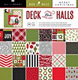 American Crafts Deck The Halls X Paper Pad