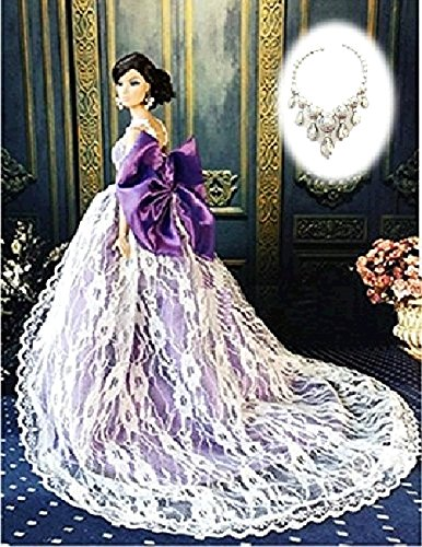 Longing of wedding dress Set Barbie Plush for Jenny Bryce momoko such as 16 Size Doll bestellen