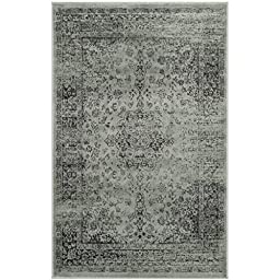 Safavieh Vintage Collection VTG113-2111 Spruce and Ivory Area Rug, 2 feet 7 inches by 4 feet (2\'7\