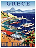 Quality poster in Paper or Canvas.Travel Greece.Grece.Castella Bay Athens