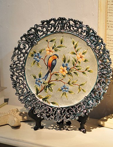 BO Eurpean Modern Style Resin Ashtray Tabletop Decoration Home Decor,