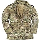 Mil-Tec Men's Classic US M65 Jacket Multitarn size XXL