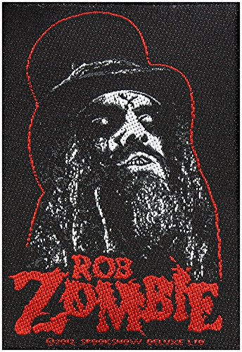ROB Zombie toppa Portrait 7 x 10 cm hard rock Heavy metal