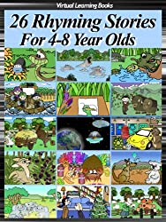 26 Rhyming Stories For 4-8 Year Olds (Childrens Rhyming Story Book) (Phonic Ebooks: Kids Picture Book (Peekaboo: Everyday Stories)) (English Edition)