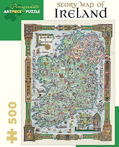 Story Map of Ireland: 500 Piece Jigsaw Puzzle
