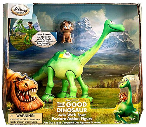 Disney Pixar The Good Dinosaur Arlo With Spot Action Figure Set