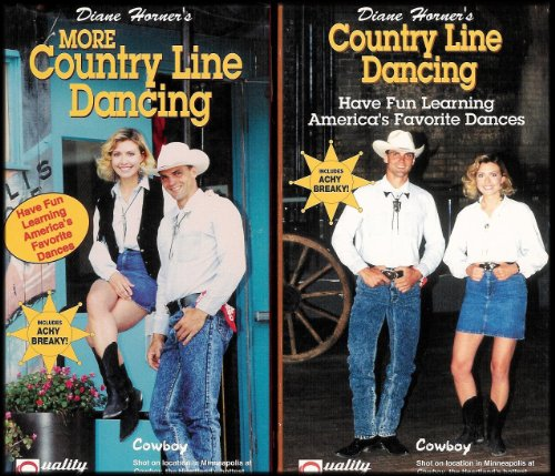 Diane Horner'S Country Line Dancing 2 Vhs Video Set: Country Line Dancing And More Country Line Dancing [2 Vhs Videos]