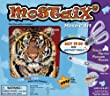 Mostaix Silver Ribbon Series Tiger Mosaic Art Set