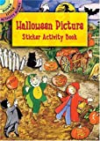 img - for Halloween Picture Sticker Activity Book (Dover Little Activity Books) (Vol i) book / textbook / text book