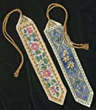 Gold Collection Bookmarks Counted Cross Stitch Kit-9'' Long 14 Count Set Of 2