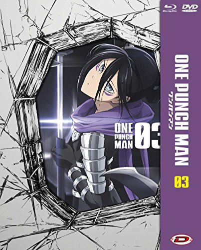 One Punch Man #03 (Eps 09-12) (Ltd) (Blu-Ray+Dvd)