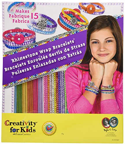 Creativity for Kids Rhinestone Wrap Bracelets - 1