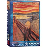 Eurographics The Scream by Edvard Munch 1000-Piece Puzzle