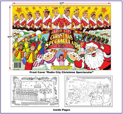 Radio City Christmas Spectacular Coloring Book (17x11)