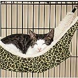 Pecute Cat Kitten Hanging Hammock Bed Pad Pet Cat Cage Comforter Large
