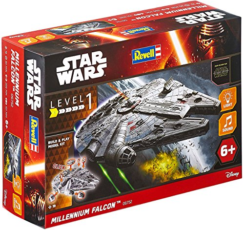 REVELL Level 1 STAR WARS MILLENNIUM FALCON # 06752 light and sound