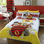 Beano Beach Car Duvet Set, Multi, Single