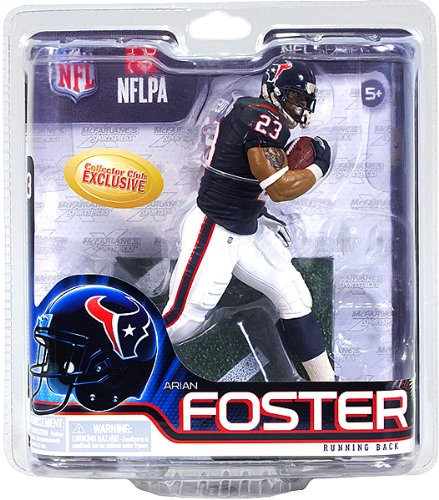 McFarlane ARIAN FOSTER collectors club Exclusive NFL 31 Rookie figure Houston Texans running back (Arian Foster Figure compare prices)