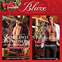 Cowboy Unwrapped & One Hot December: Thunder Mountain Brotherhood, Book 8 Audiobook by Vicki Lewis Thompson, Tiffany Reisz Narrated by Abby Craden, Lidia Dornet