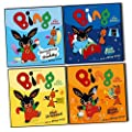 Bing As seen On TV CBeebies 4 Children story Books Collection Pack Set -(Bing: Something For Daddy, Bing: Make Music, Bing: Bed Time, Bing: Get Dressed)