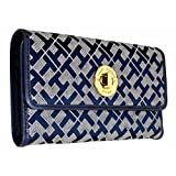 Tommy Hilfiger Womens Wallet - Blue