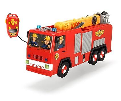 Dickie Jouet de 203099001–Camion de Pompier Fireman Sam Hero Jupiter