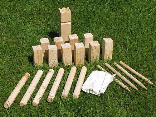 kubb holz garten spiel wikinger kegel schach spielzeug outdoor ean. Black Bedroom Furniture Sets. Home Design Ideas