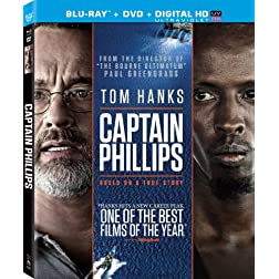 Captain Phillips (Two Disc Combo: Blu-ray / DVD + UltraViolet Digital Copy)