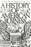 img - for A History of American Business, 2nd Edition book / textbook / text book
