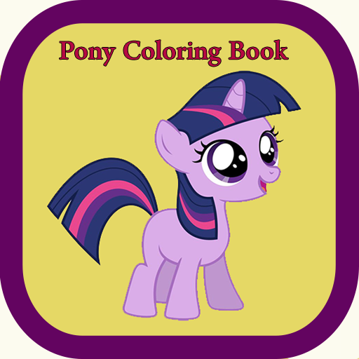 pony-coloring-book