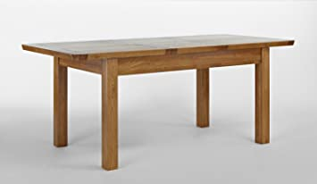 Knightsbridge Oak Extending Dining Table - 150-195cm