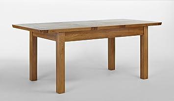 Knightsbridge Oak Extending Dining Table - 150-195cm