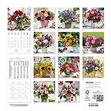 Image de Alpha Edition 16.0101 Fiori Calendario da Muro 2016, 30 X 60 cm Aperto