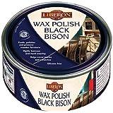 Liberon BBPWAP500 500ml Wax Polish Bison Antique Pine - Black