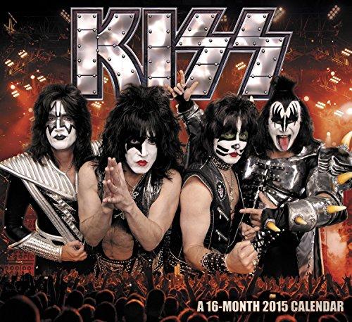 Kiss Square Calendar 2015