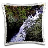 WhiteOak Photography Waterfalls - Waterfall in North Georgia - 16x16 inch Pillow Case