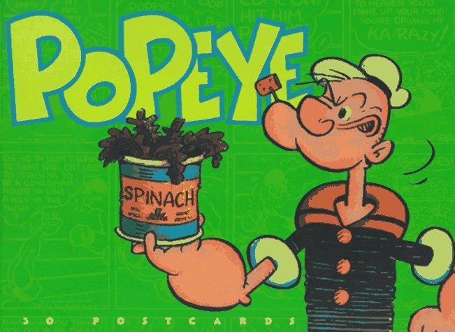 POPEYE POSTCARD BOOK                 GEB