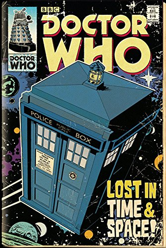 poster Doctor Who-Fumetto, Tardis + s-poster