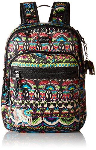 Sakroots Artist Circle Utility Backpack, Radiant One World, One Size