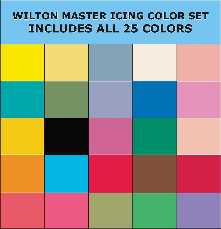 Wilton Master Icing Color Set