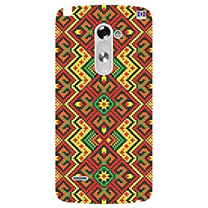 Embroidery Designs - Mobile Back Case Cover For LG G3 Stylus