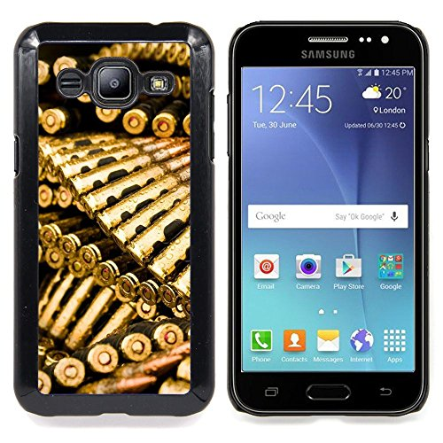 Golden Bullets Ammo Designed Hard Plastic Protective Case King Case For Samsung Galaxy J2