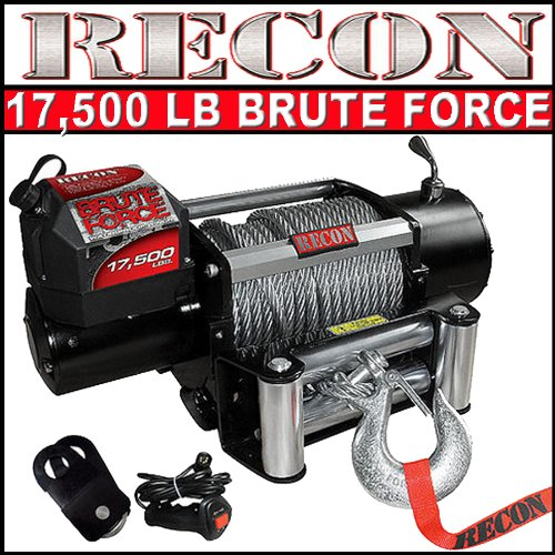 Recon 17500lb Brute Force Series Winch