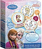Brand Castle FROZEN SNOW GLOBE PAINT A COOKIE KIT 03127