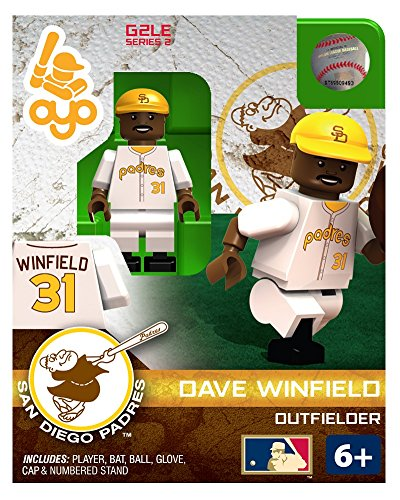 Dave Winfield MLB San Diego Padres G2S1 Hall of Fame Mini Figure OYO