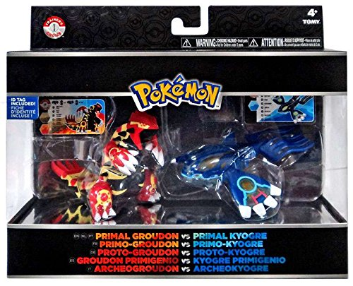 Pokemon Primal Trainer's Choice 2 Figure Set - Groudon & Kyogre (Kyogre Figure compare prices)